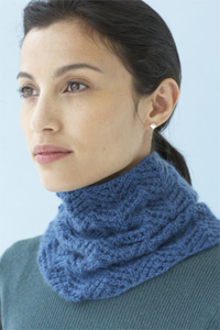 Lacy Luxe Cowl