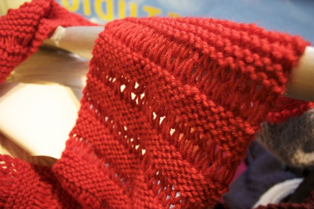 Drop Stitch Knit Hat Pattern : Drop a Stitch On Purpose! Lion Brand Notebook