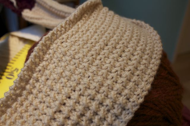 Knitting Rice Stitch In The Round : Our Final Scarf-a-Day! Lion Brand Notebook