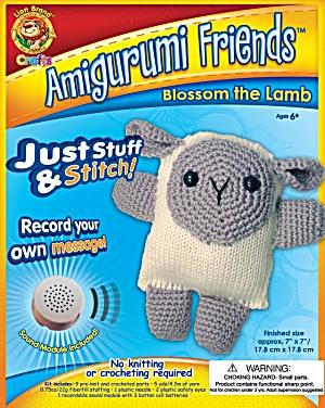 Amigurumi Friend: Blossom the Lamb