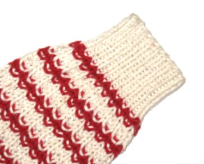 Knit Sweater Sleeve