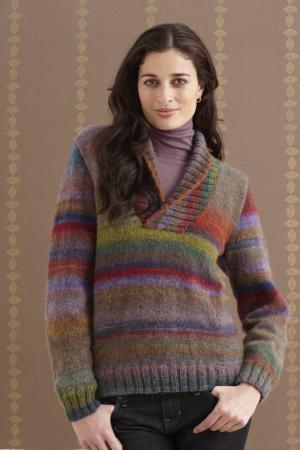 Wisteria Shawl Collar Pullover