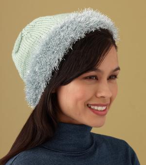 Glitter Edged Hat