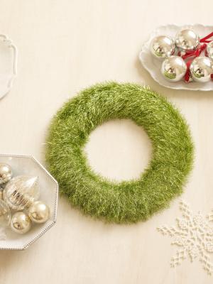 Glitter Eyelash Wreath