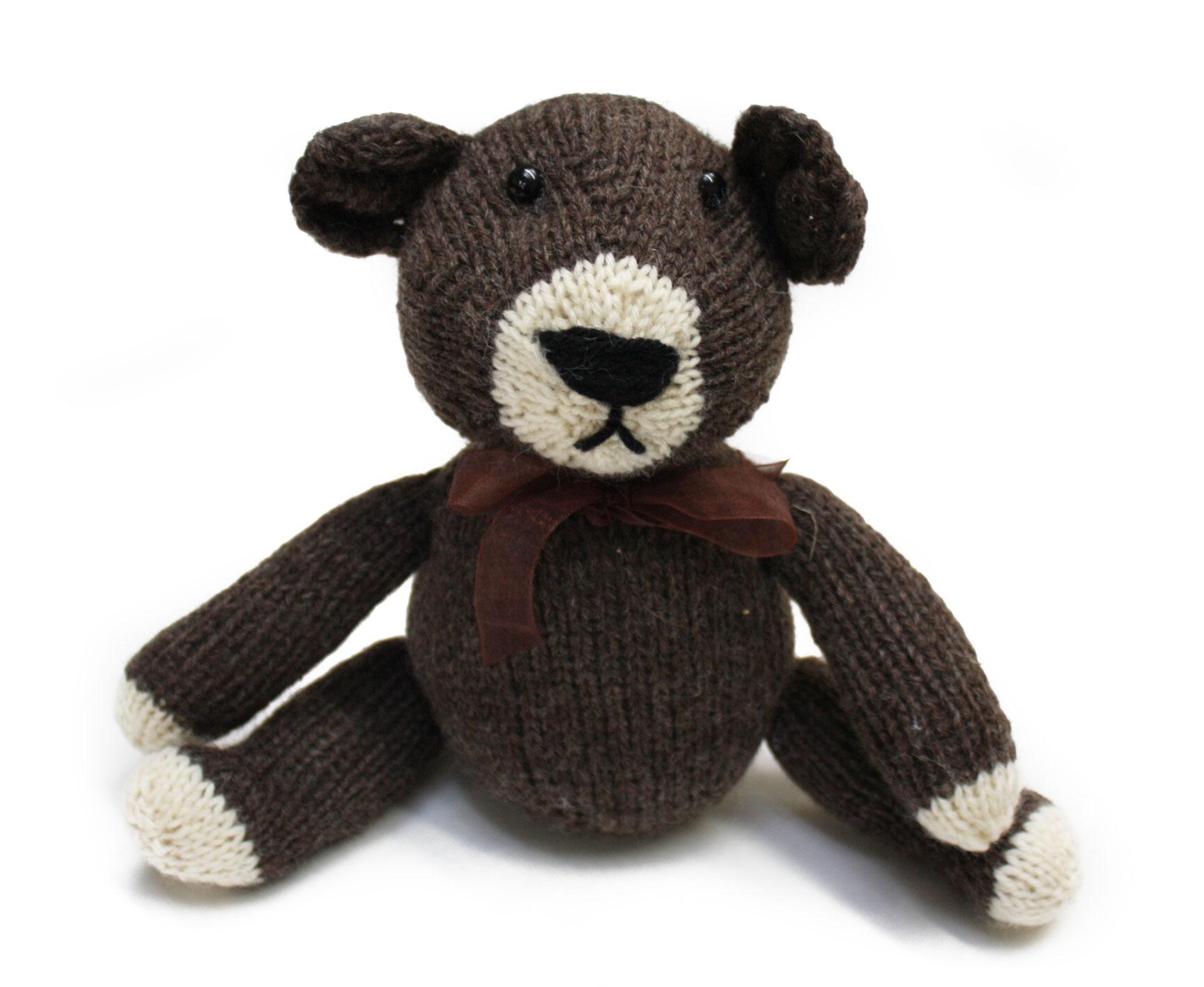 Gregory Patrick Hand Knit Bear