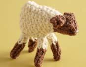 Sweet Seed Stitch Lamb