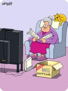 Wii Knitting