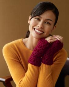 Crochet Touchdown Wristers