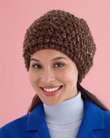 Crochet Unisex Slouchy Hat