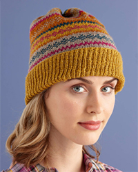 Knit Glamorous Fair Isle Hat