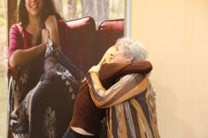 Vanna says goodbye to Nancy.