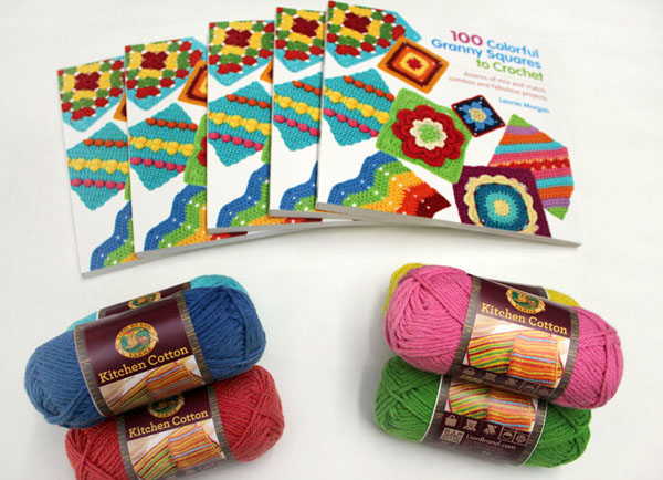 Crochet Granny Squares Giveaway!