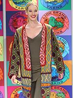 Color Paneled Coat