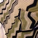 crochet ripple afghan - VC