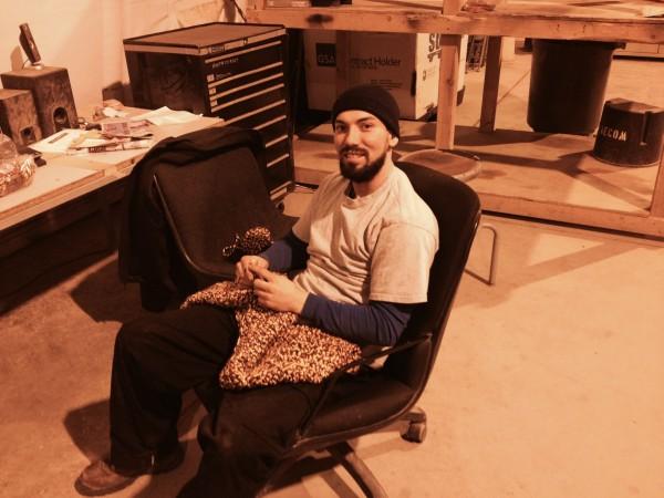 afghan knitting