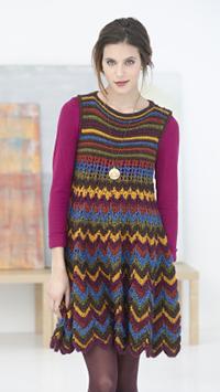 Knit Zig Zag Dress