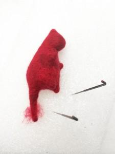 Acrylic Needle Felted Cat