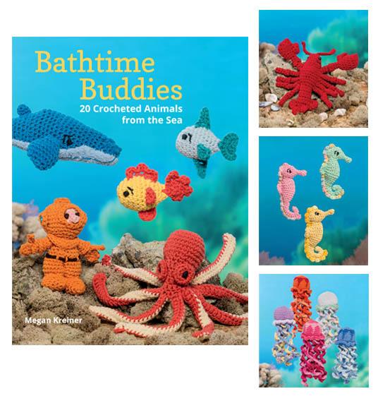 Bathtime Crochet Buddies