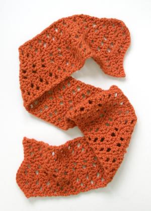 modern lace scarf