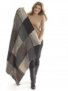 level 2 knit afghan