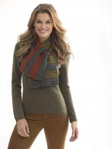 neck's best colorblock scarf