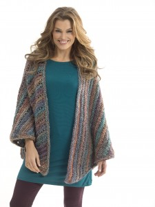 neck's best thing triangle shawl