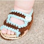 Crochet Summer Sandals by AshleeMarie