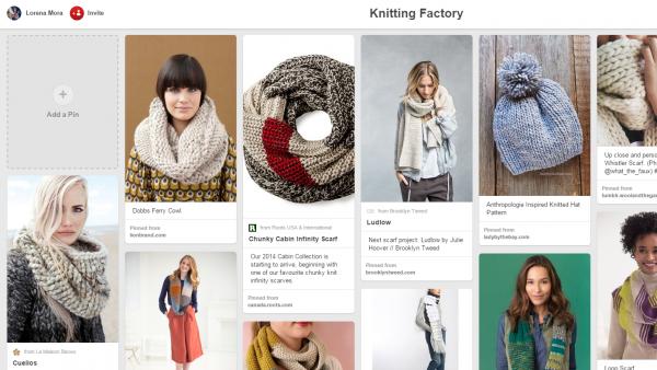 knitting board