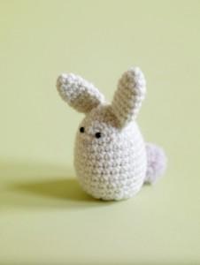 Amigurumi Bunny Egg Cozy