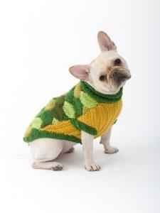 Turtle Dog Costume (Knit)