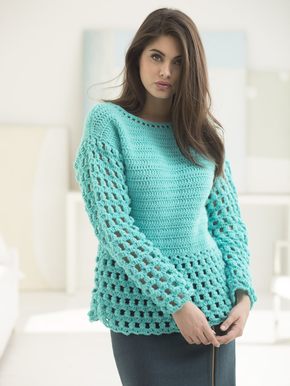 Myrtle Beach Pullover (Crochet)