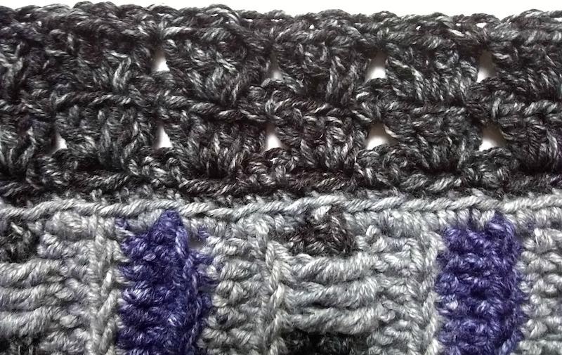Phoenix Wrap Crochet-a-Long in Lion Brand Jeans by Underground Crafter - Part 2 Sneak Peek